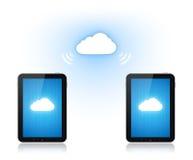 Transmission de calcul de nuage illustration de vecteur