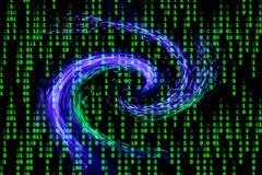 Transmission de données image stock
