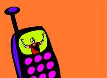 Transmission de messages d'illustration Images libres de droits
