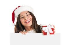 Transmission de Noël Photo libre de droits
