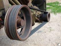 transmission de V-ceinture image stock