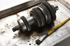 Transmission gear Royalty Free Stock Image