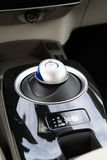 Transmission gear stick of nissan leaf Royalty Free Stock Photo
