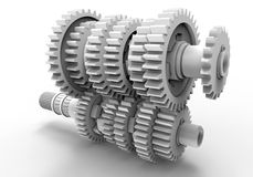 Transmission gears Royalty Free Stock Photography