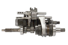 Transmission gears (isolated) Royalty Free Stock Images