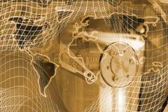 transmission globale Photo stock