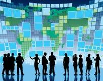 transmission globale Image libre de droits