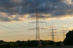 transmission lijn Stock Fotografie