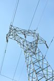Transmission line Royalty Free Stock Photography