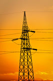 Transmission line Royalty Free Stock Images