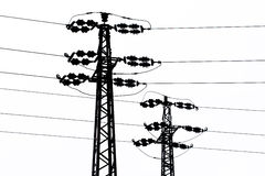 Transmission-line Royalty Free Stock Photography