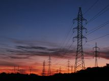 Free Transmission Line Royalty Free Stock Photography - 3278517