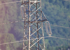 Transmission line Stock Image