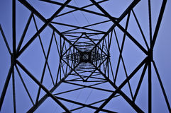 Transmission line Stock Image
