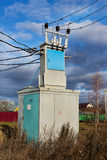 Transmission line transformer Royalty Free Stock Photography