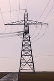 Transmission lines Royalty Free Stock Photography