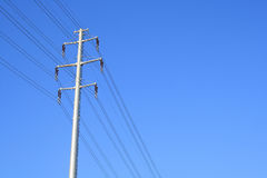 Transmission lines Stock Image