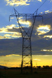 Transmission lines Stock Photos