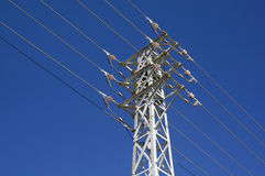 Transmission lines Stock Photography