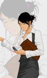 Transmission mobile illustration de vecteur