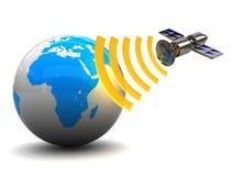 Transmission par satellite Photo libre de droits