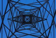 Transmission power towers. Royalty Free Stock Photos