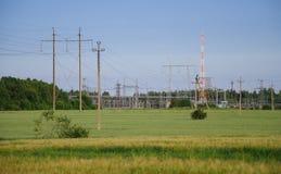 Transmission power Stock Photo