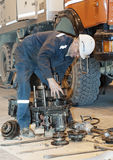 Transmission repair Royalty Free Stock Image