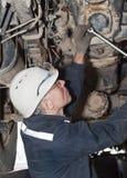 Transmission repair Stock Photo