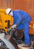 Transmission repair Stock Images