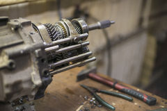 Transmission with shallow depth of field Stock Photos
