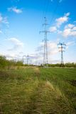 Transmission tower royalty free stock images