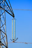 Transmission tower detail Stock Photography