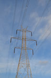 Transmission tower Royalty Free Stock Photography