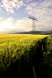 Transmission tower Royalty Free Stock Image