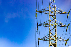 The transmission tower Royalty Free Stock Image