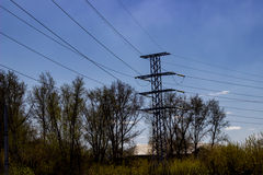 The transmission tower Stock Photography