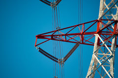 Transmission towers Royalty Free Stock Photos