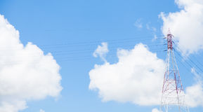 Transmission towers. Royalty Free Stock Photos