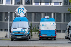 Transmission venture Bavarian Broadcasting, BR. Bayerischer Rundfunk Bavarian Broadcasting, BR is a public-service radio and television broadcaster, based in Royalty Free Stock Images