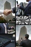 Transmissions d'affaires Photographie stock libre de droits