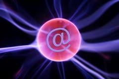 Transmissions d'Internet Images stock