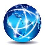 Transmissions de Moyen-Orient, de l'Afrique et d'Europe illustration stock
