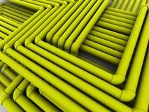 Transmissions de tubes d'Abstact. 3d illustration libre de droits