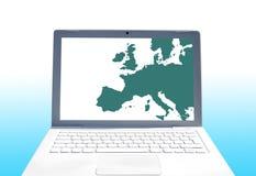 transmissions européennes Image libre de droits