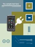 Transmissions mobiles illustration de vecteur