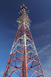 Transmissor da telecomunicação Fotografia de Stock Royalty Free
