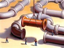 Transmite la red stock de ilustración