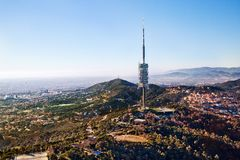 Transmitter of Barcelona Royalty Free Stock Images