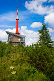 Transmitter on Lysa hora Stock Photography